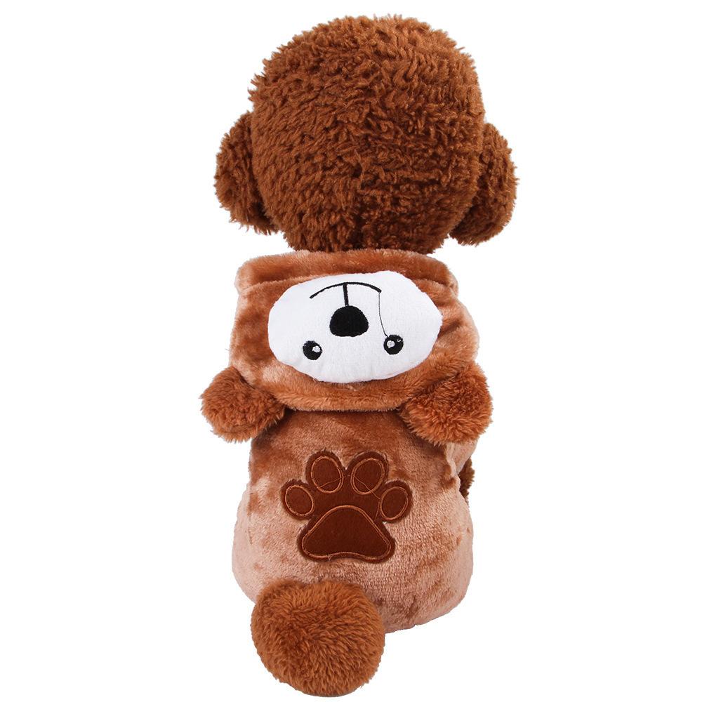 Evcil Hayvanlar Giyim Gogo Dört Ayak Kahverengi Ayı Değişim Kostüm Kalınlaşma Makaleler