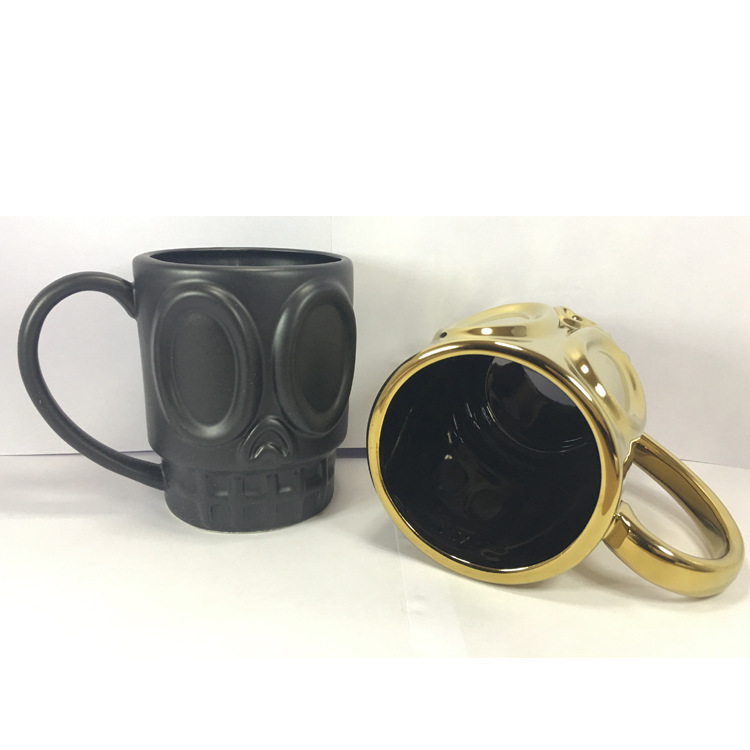 European Grimace Gift Ceramics Coffee Drink Originality Marc Cup