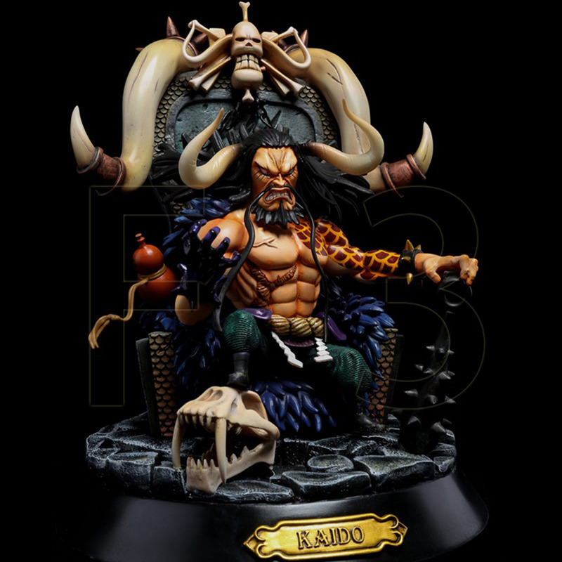 Anime One Piece four kings Edward Newgate Shanks Kaido Charlotte Linlin PVC Action Figure Collectible Model Toys For Doll Gift