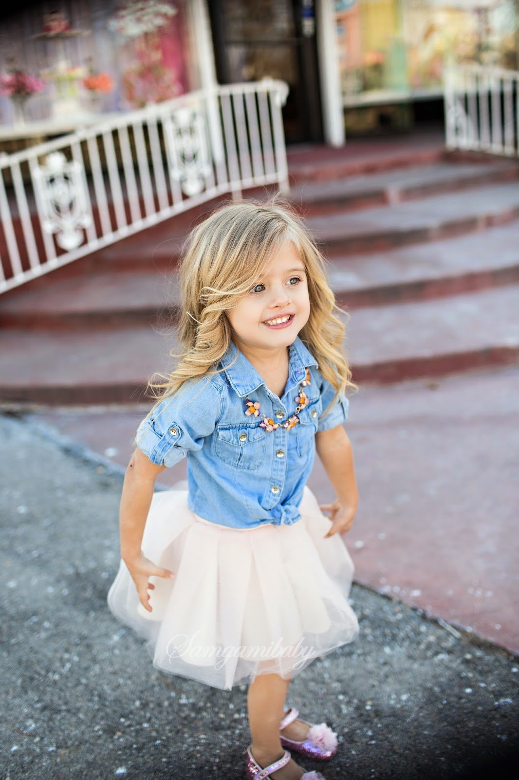 Mother Daughter Denim Dresses Like Mum Mom And Daughter Dress Summer Auntumn Style Family Look Denim T Shirt Top +tutu Skirt Y19051103