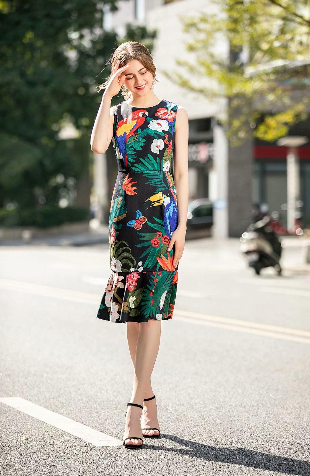 damen schöne sommerkleider online großhandel