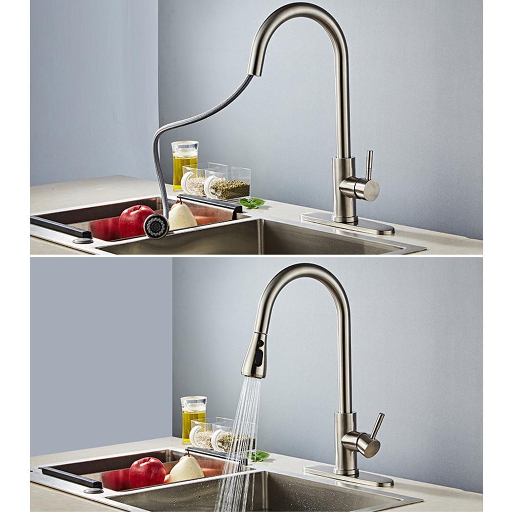 Nouvelle mode cuisine évier de salle de bains en acier inoxydable robinet d'eau chaude et froide mode nouvelle en acier inoxydable robinet de cuisine