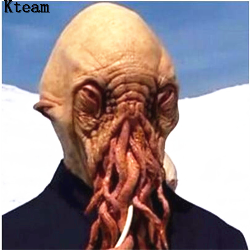 OCTOPUS Maschera creatura marina Costume Accessorio Halloween