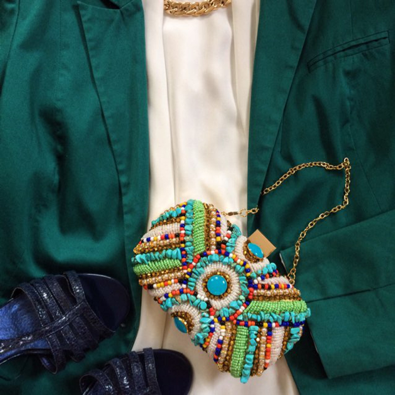 Vintage Colorful Beaded Stones bags (11)