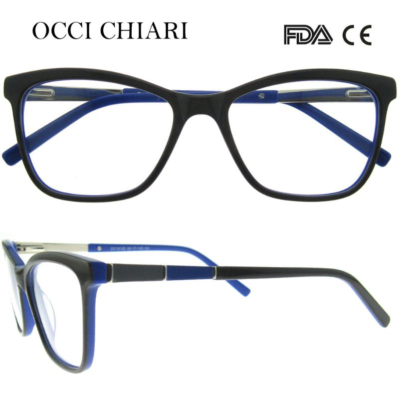 CLEAR MUNDOS Black and Yellow Demi Acetate Optical Frame for Man Square Spectacle Frame Big Size Bridge and Lens Eyewear