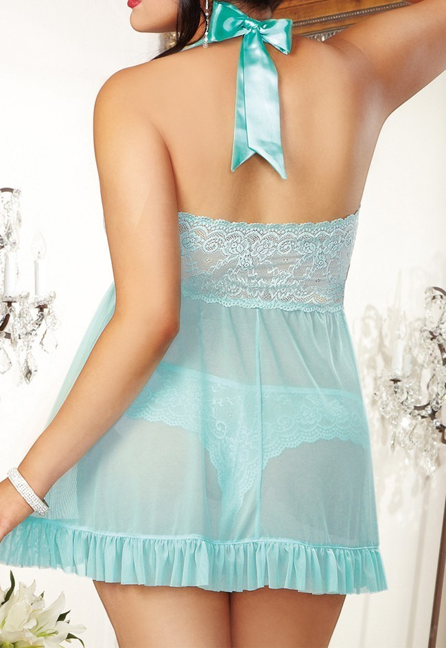 Blue-Sexy-Pajamas-for-Women-Plug-Size-Sexy-Lingerie-Lace-Babydoll-Erotic-Lingerie-Sexy-Dress-Hot (1)