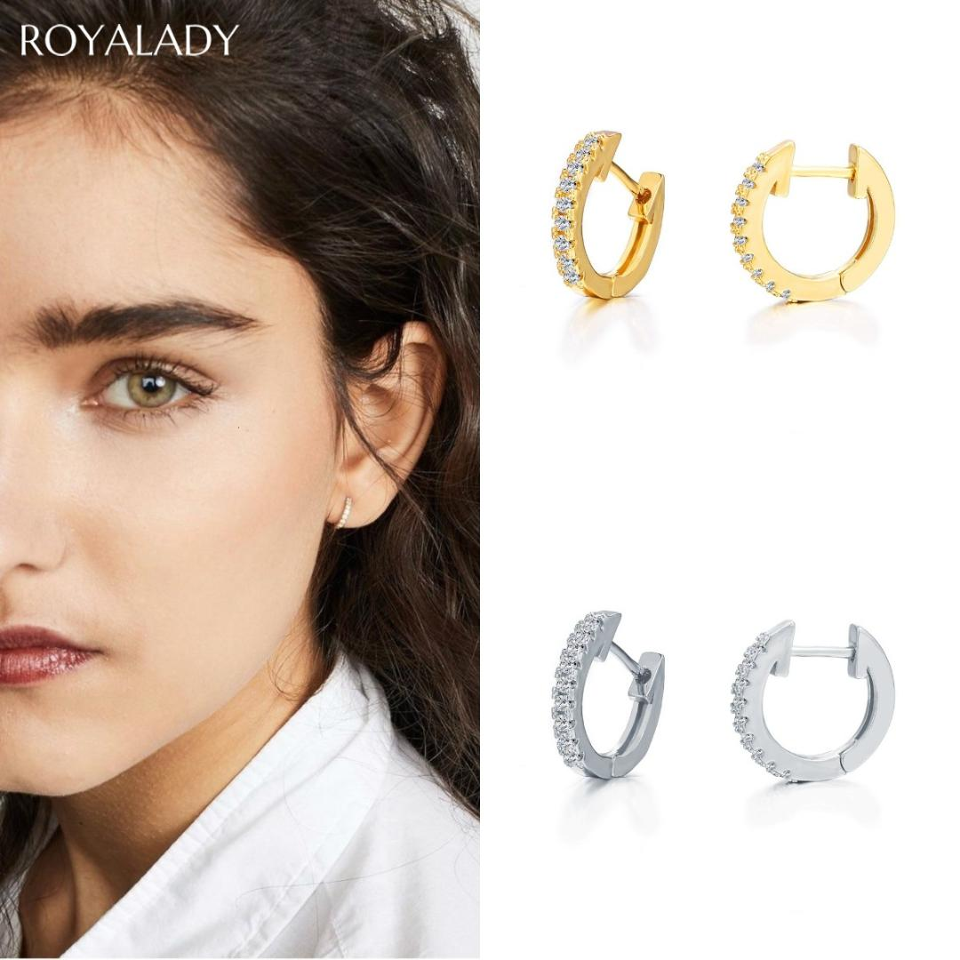 fashion alloy earrings combination simple one-shaped earrings simple series of simple and detailed stud earrings Ms