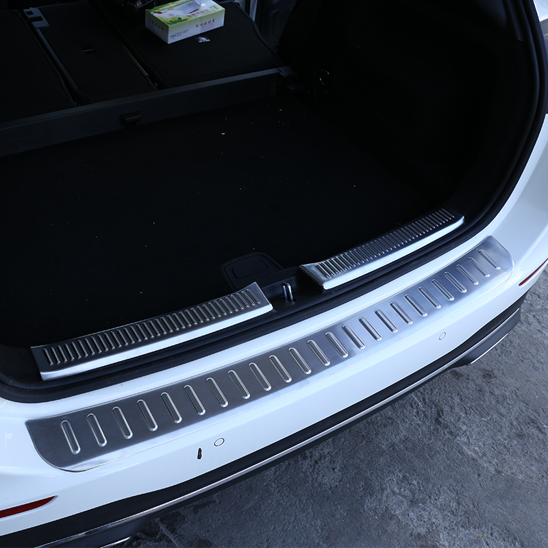 Outer Trunk Bumper Stainless Steel Protector Sill Plate for Ford Explorer16
