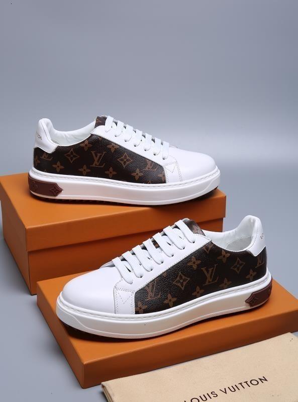 2019 Yeni Geliş Moda Erkekler Günlük Ayakkabılar Sneakers Üst Kalite Deri Arı İşlemeli 071101