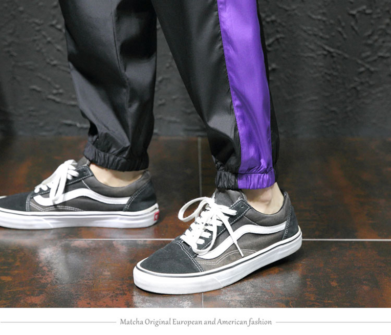 Loose Hip Hop Cargo Pants Men Camouflage Patchwork Harem Mens Trousers Streetwear (26)