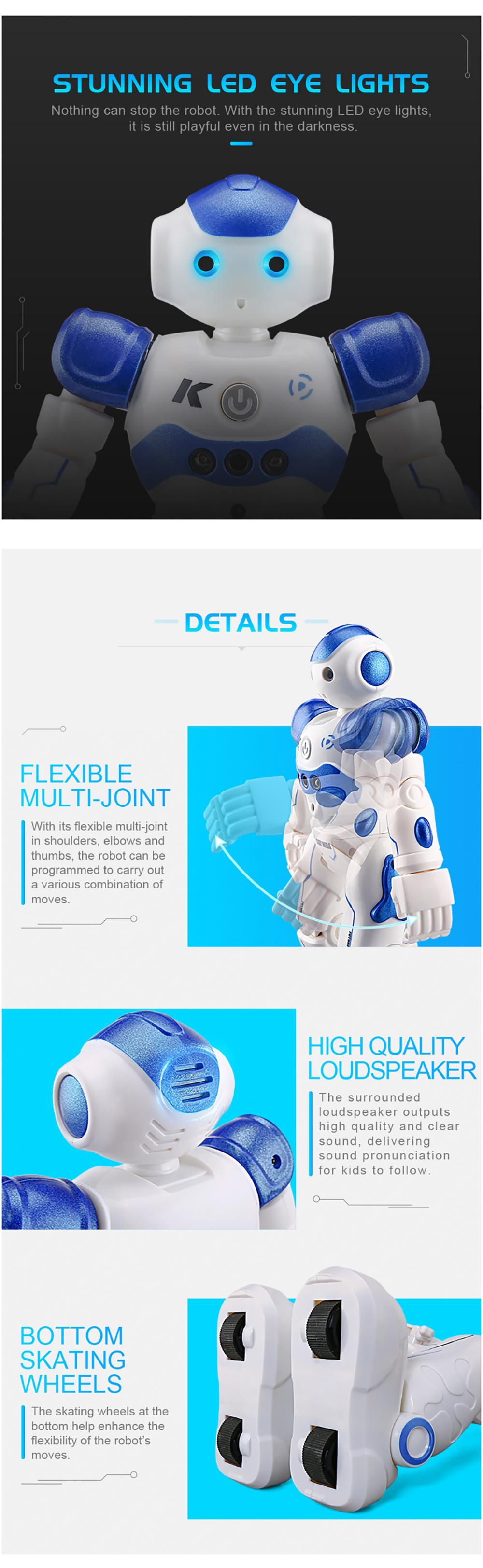 RC Robot Intelligent Programming Remote Control Robot Toy-4