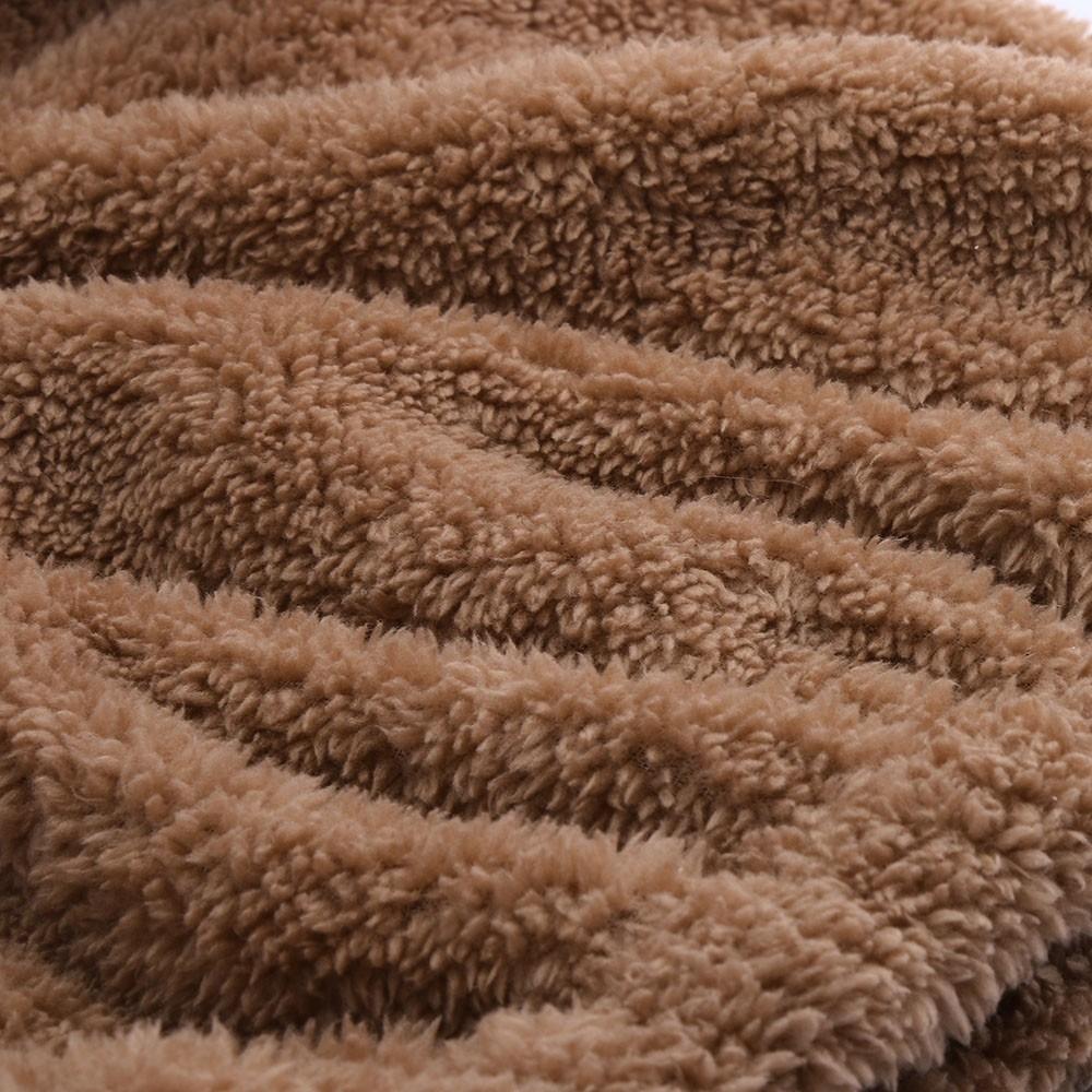 Women Hoodies Sweatshirt Kawaii Fleece Fur Coat 2018 Winter Warm Teddy Bear Ears Soft Jacket Thick Coat Hooded Outwears Sudadera MX190815
