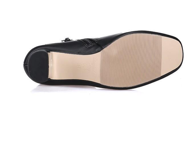 overseas2019 34/40 LEATHER SILVER HEEL Short BOOTS Luxury Designer Inspired Ce