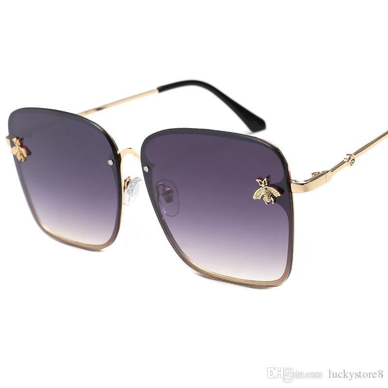 2019 New high quality brand designer luxury womens sunglasses women sun glasses round sunglasses gafas de sol mujer lunette