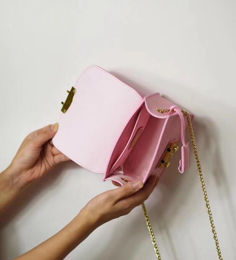 New Designer Woman Pure Cowhide Handbag Fashion Luxury Chain Crossbody Flap Bag Mini Shoulder Bag High Quality Real Leather Purse Tote Bags