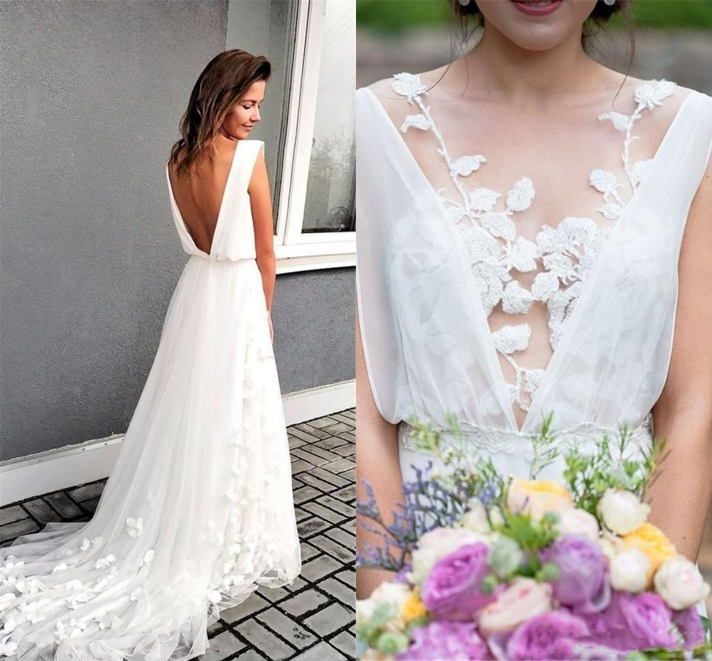 Discount Hot Sell Wedding Dresses Spring Summer Bohemian Bridal