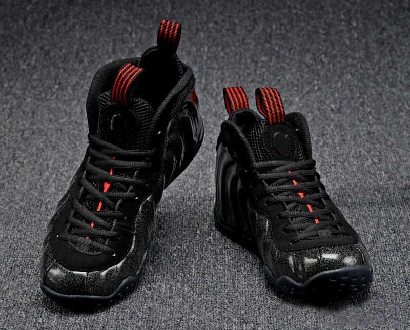 men basketball shoes cheap black boy penny hot mens shoe low sale price led Sports running sneakers with box