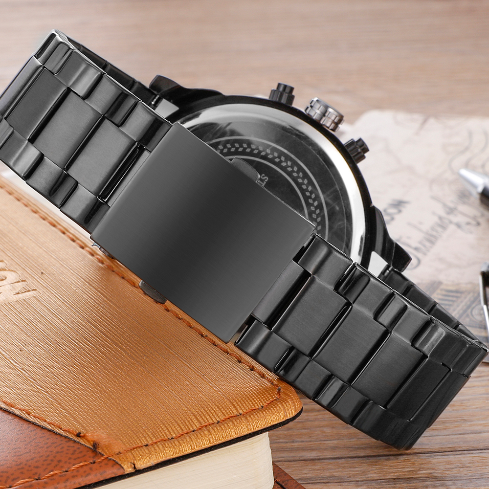 cagarny mens watches quartz watch men dual time zones big case dz military style 7331 7333 7313 7314 7311 steel band watches free shipping (34)