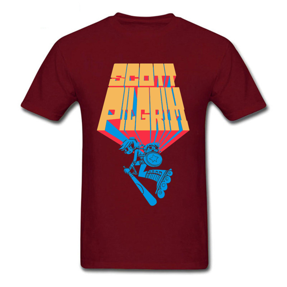 Compre Camisa De Hip Hop T Camiseta Camisa De Pilgrim Scott T Shirt De Homens Canadense Ramona Flores Floresce T Shirt T Shirt Scott Pilgrim Contra O Mundo De Zhanhuaclothes 160 39