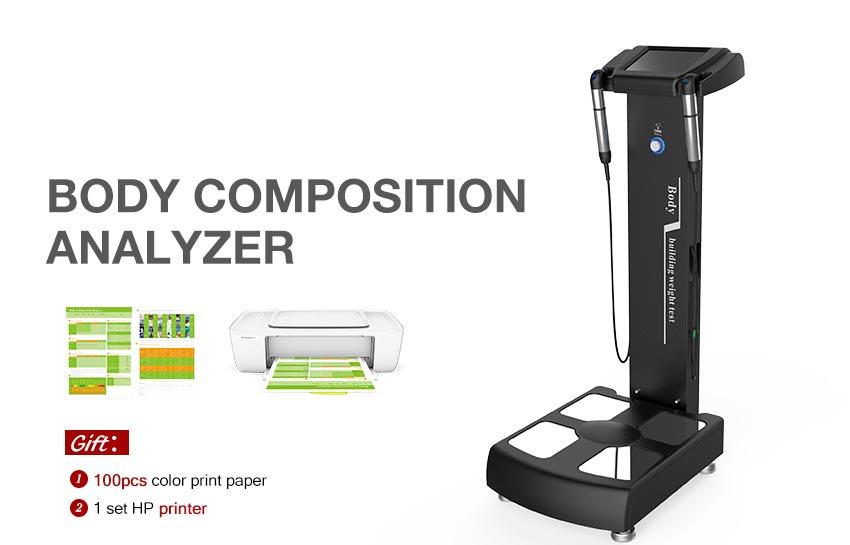 Professional body fat analyzer machine with two printers hotest weight analyzer BCA gs6.5 C+ fat analyzer body composition