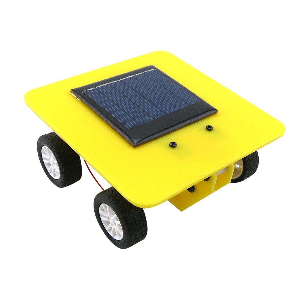 Giocattoli bambini Mini Solar Powered Car Toy Fai da te Abs Bambino i educativi Divertiti Goditi regalo Dropshipping