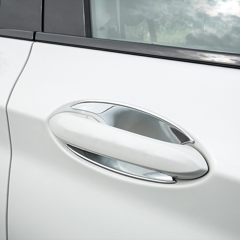 Chrome Exterior Car Door Handle Cover Trim For HYUNDAI TUCSON TL 2015 2016-2018