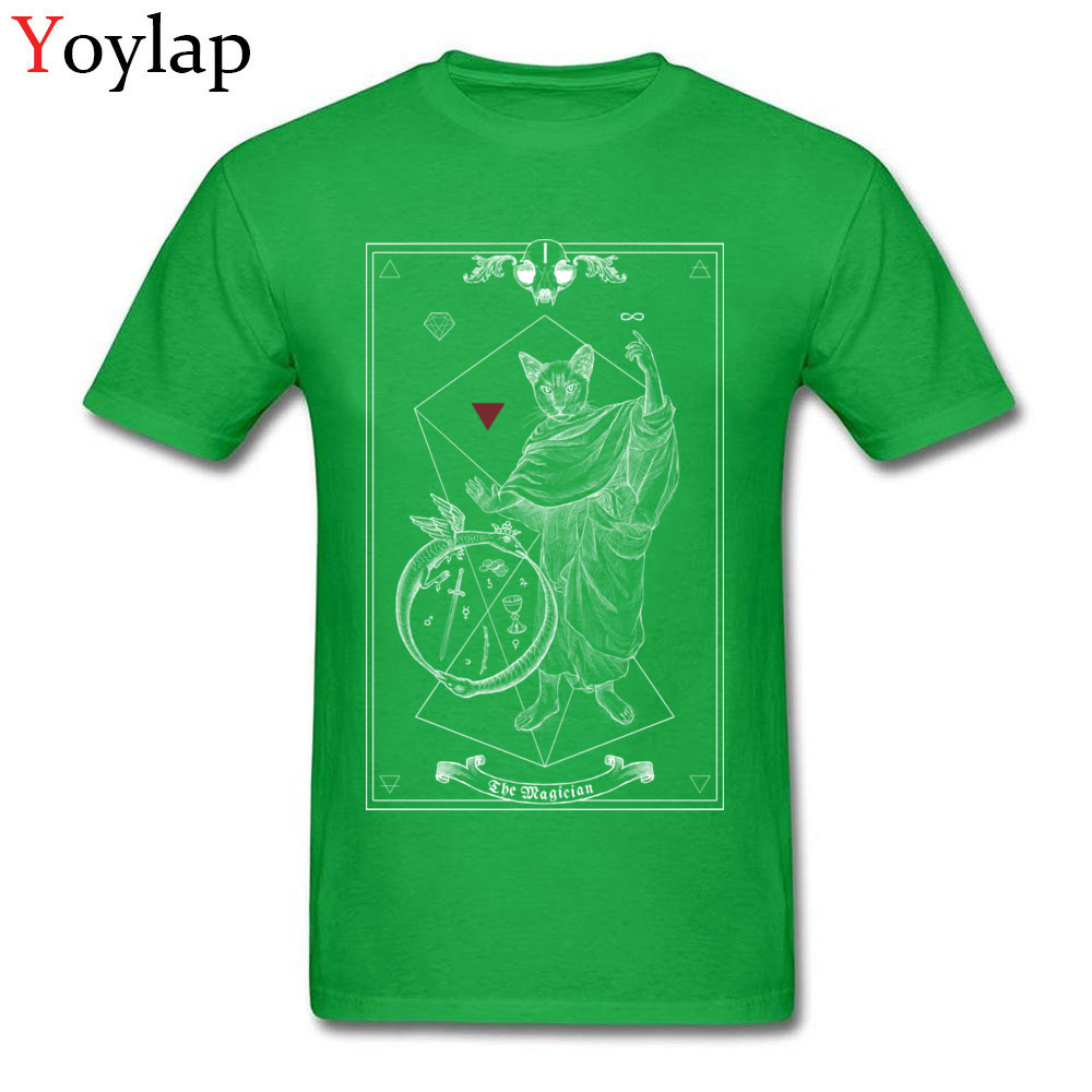 Family Custom Short Sleeve T-shirts Summer Fall Crew Neck 100% Cotton Tops T Shirt for Men Summer Tee-Shirts Top Quality green