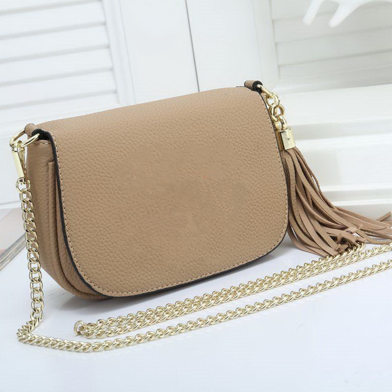 Hot Sale Fashion Famous Designer Shoulder Bag Pu Leather Soho Bag Disco Cross body Pure Color Flap Bag Women Handbag Purse