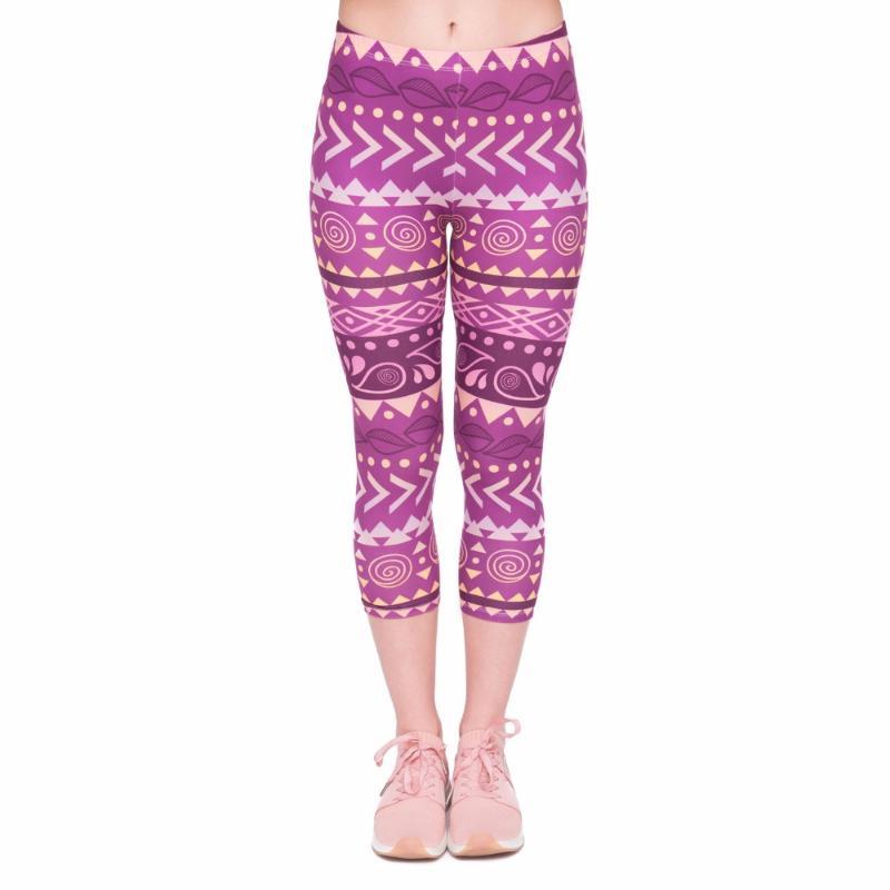 KHAKI CAPRIS with Leg Pocket /& Purple Floral Trim fit American Girl Sale!