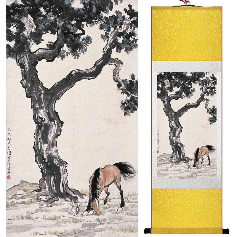 Top Quality Art Painting Traditional Chinese Painting Horse Art Chinese Painting Horse Picture18100902 Home Office Decoration