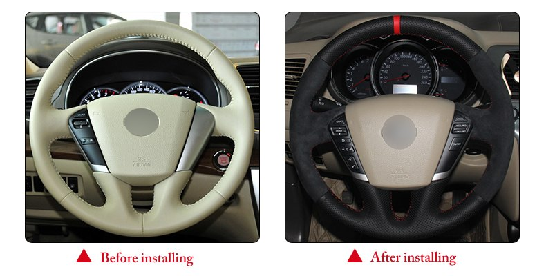for Nissan Teana 2008 steering wheel cover