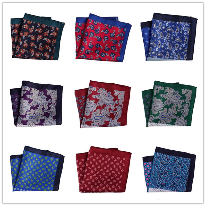 Factory Pocket Square Men/'s Silk Handkerchief Floral Flower Soft Chest Tower