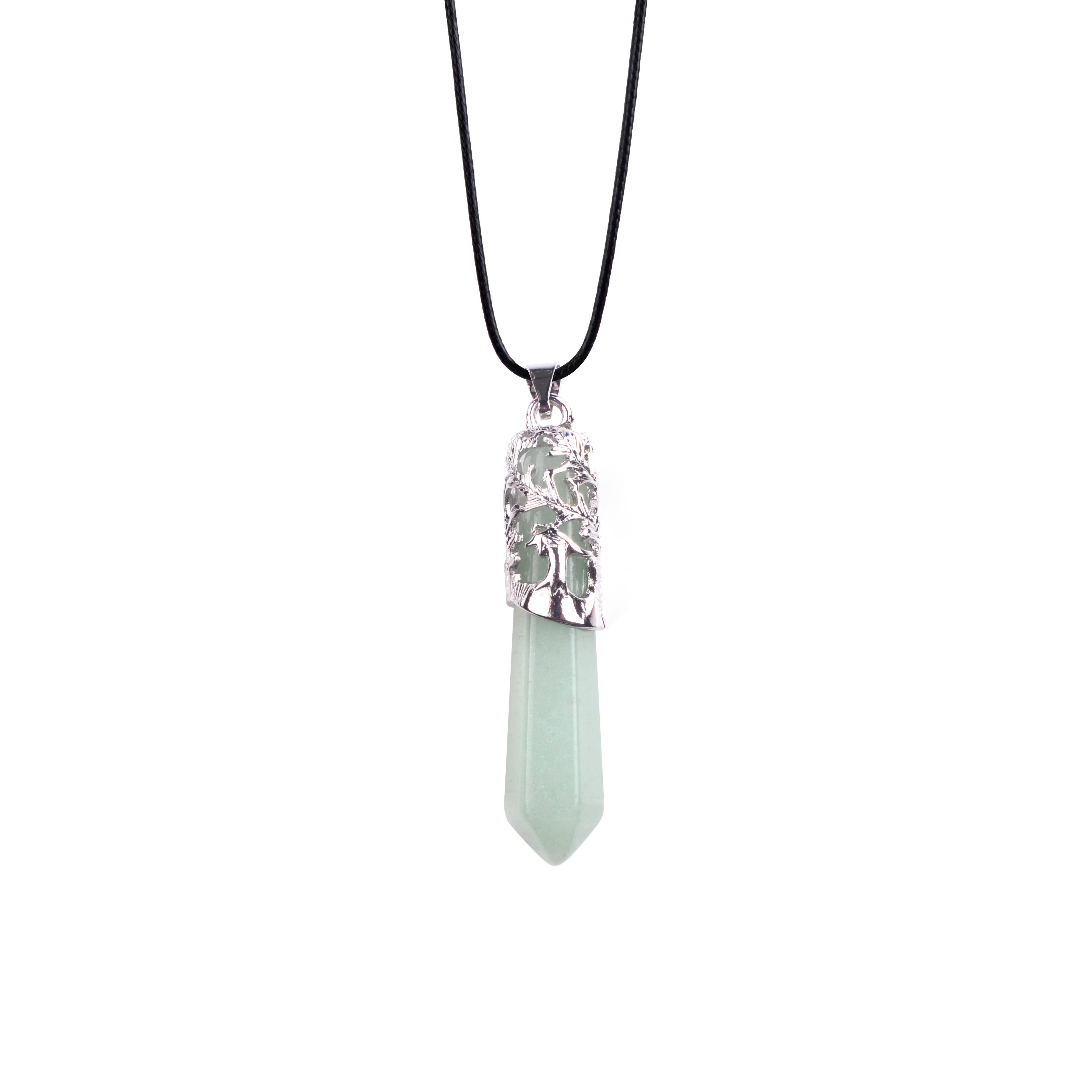 Black turmoline Orgone Pendentif Reiki Guérison Équilibre Chakra collier bijoux