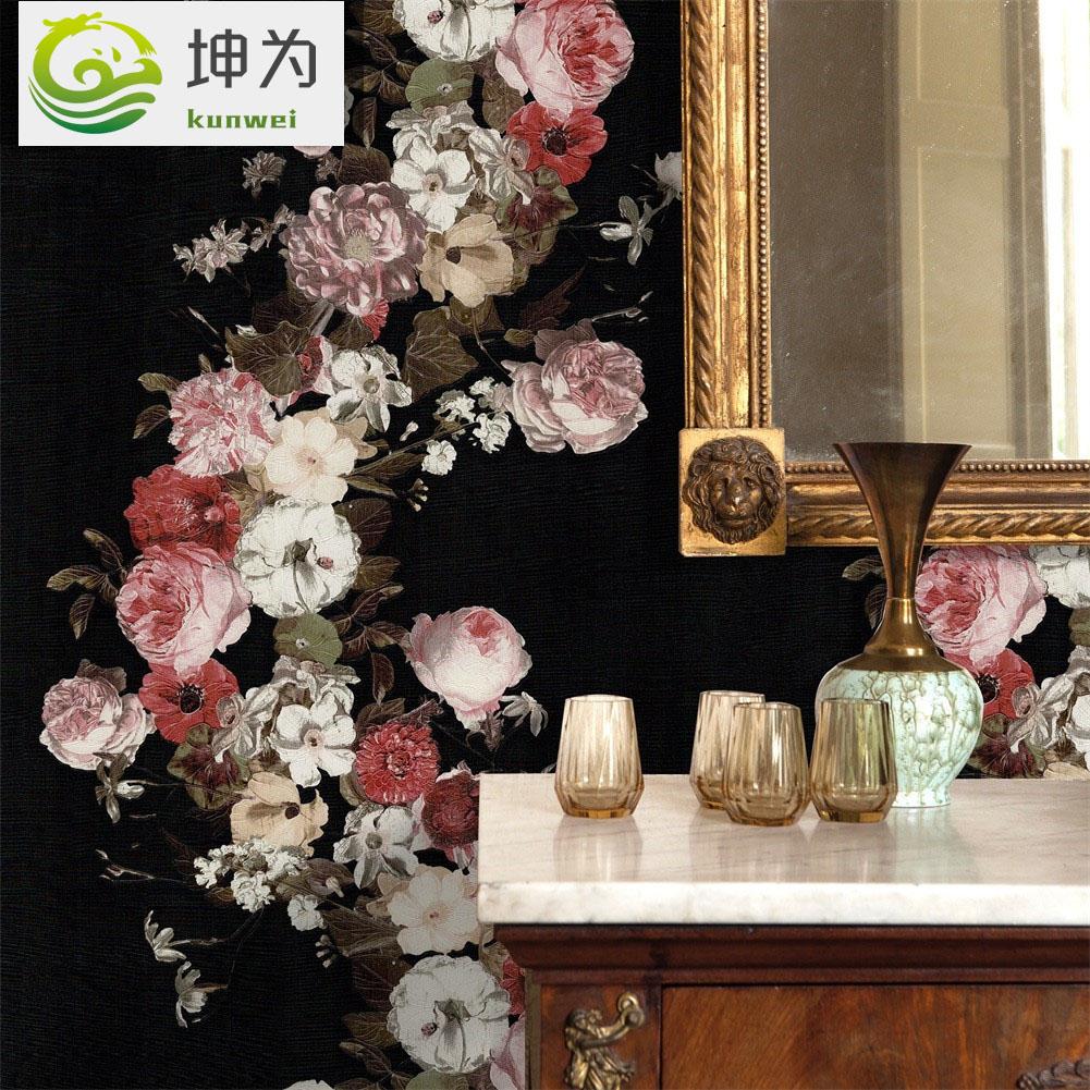 Discount Vintage Floral Wallpaper Vintage Wallpaper Floral 2020
