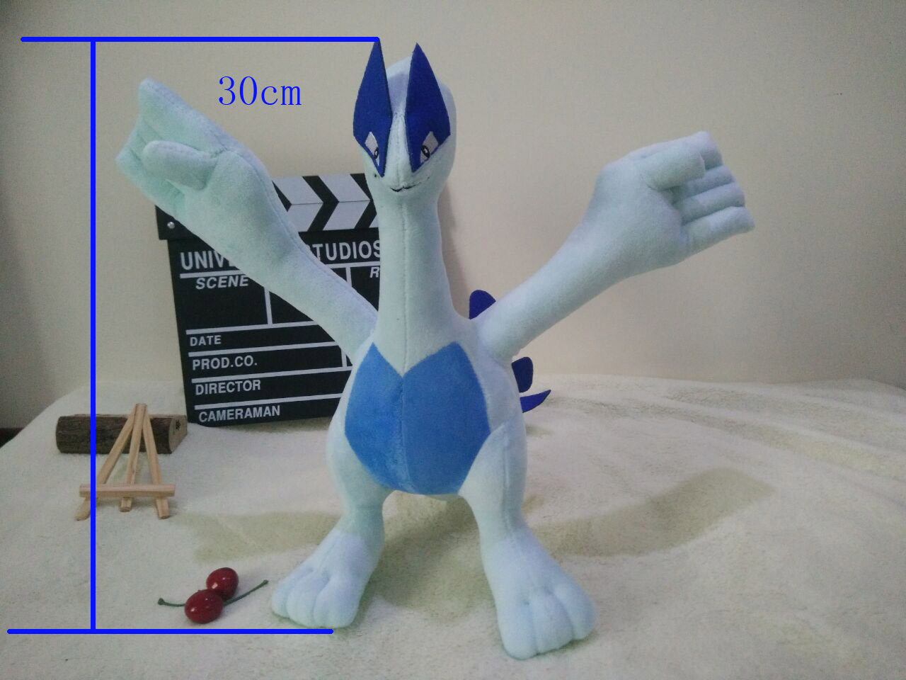 Hot ! New Toy Lugia Soft Doll Plush Toy For Kids Christmas Halloween Best Gifts 11.8inch 30cm