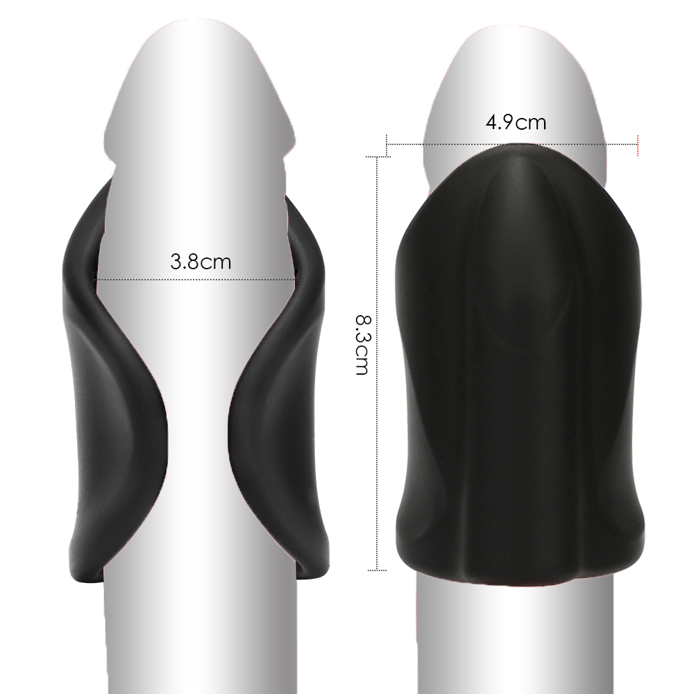 Men Vibrator Penis Trainer Male Masturbator USB Charge Delay Training Glans Vibrator 10 Speed Sex Machine Adult Sex Toys for Men (3)
