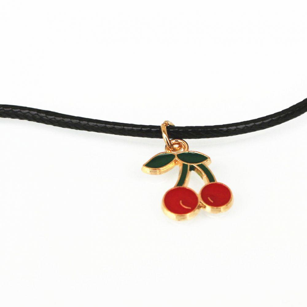 Новая Мода Новая Мода Женщины Cherry Shape Ожерелье Ювелирные Изделия Новая Мода Женщины Cherry Shape Ожерелье
