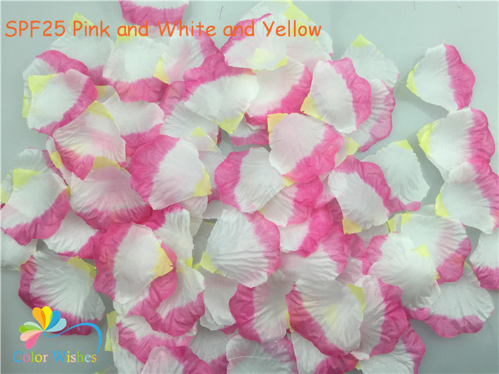 SPF25 Pink and White and Yellow