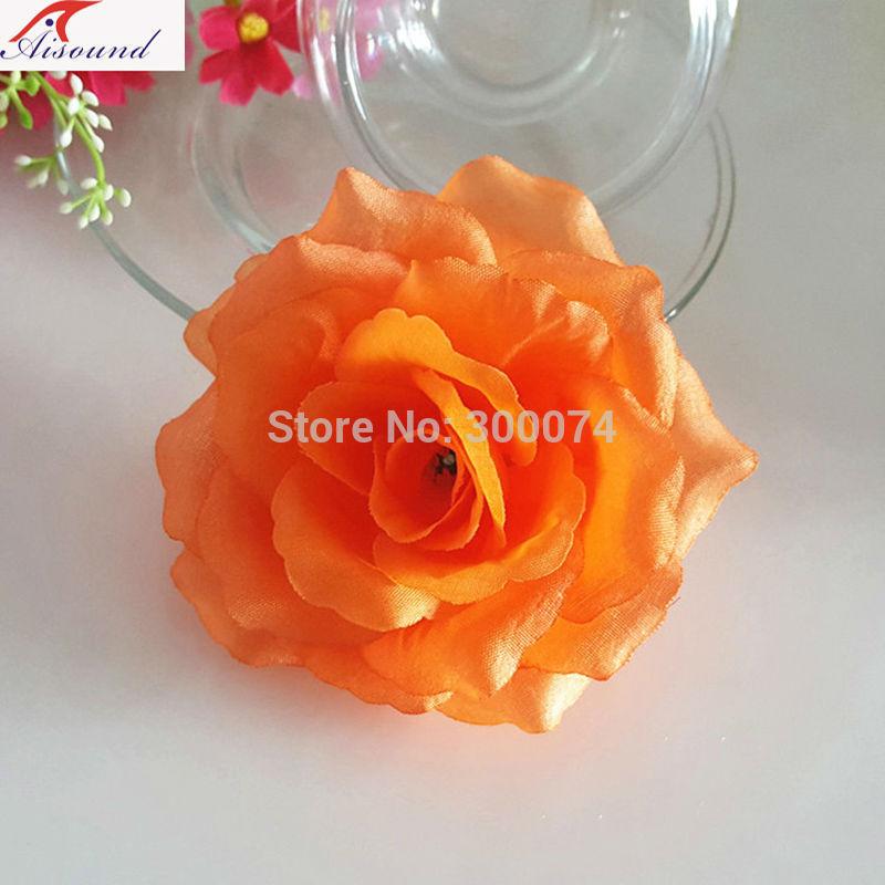 Orange decor flowers