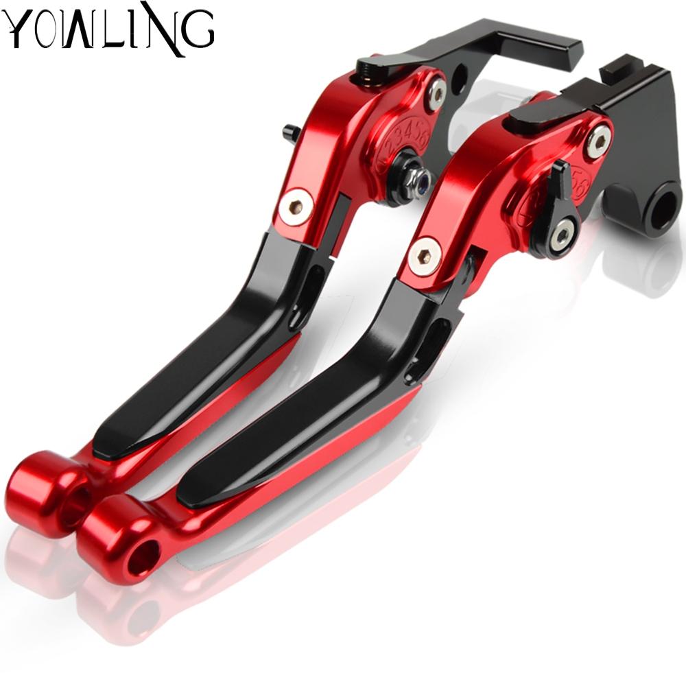 CNC extensible pliable pour moto leviers de frein Embrayage de r/églage pour Aprilia Tuono//R 2003/2004/2005/2006/2007/2008/2009
