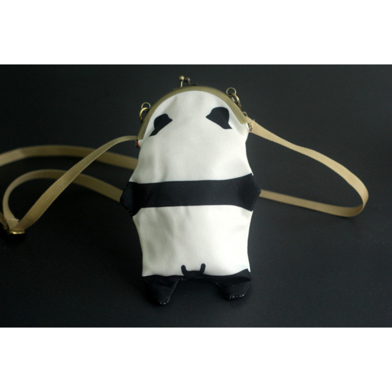 MOREFUN Koala Leather Zipper Coin Purse Pouch Change Card Holder Mini Wallet Bag Strap