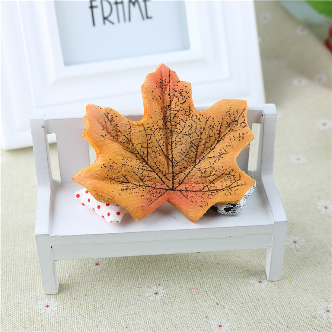 Artidicial Silk Maple Leaves Multicolor Fake Fall Leaf For Art Scrapbooking Wedding Party Decoration Craft C18112601