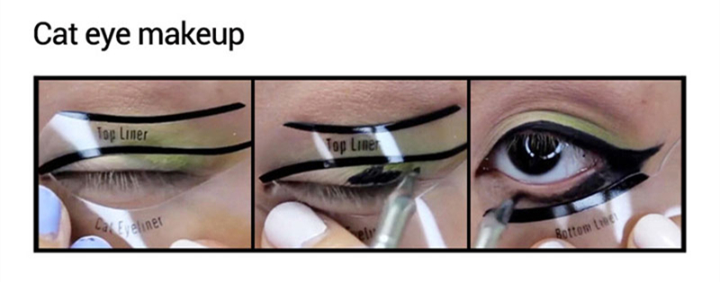 10pcs-Eyeliner-Stencil-Kit-Model-for-Eyebrows-guide-template-Shaping-Maquiagem-eye-shadow-frames-card-makeup_