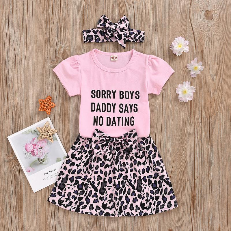 Winter Kid Outfits,Fineser Adorable Newborn Baby Girls Long Sleeves Letter Dot Print Romper+Pants+Headband Outfits 3 Sets