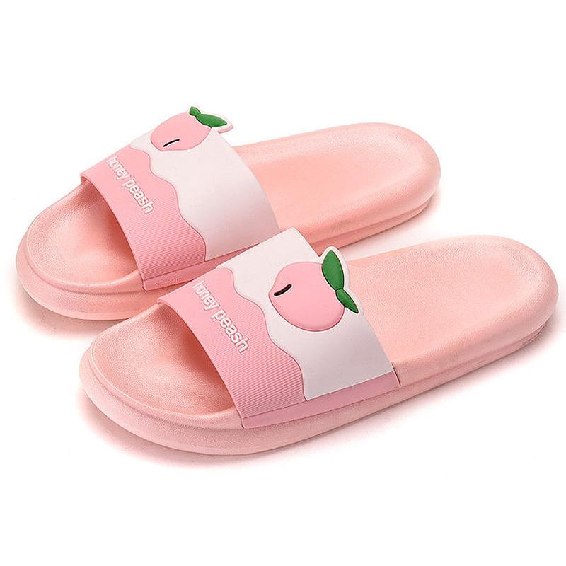 Kids Summer Slipper Cute White Owl House Slippers Shower Slide Anti-Slip Beach Pool Bath Sandals for Boys Girls