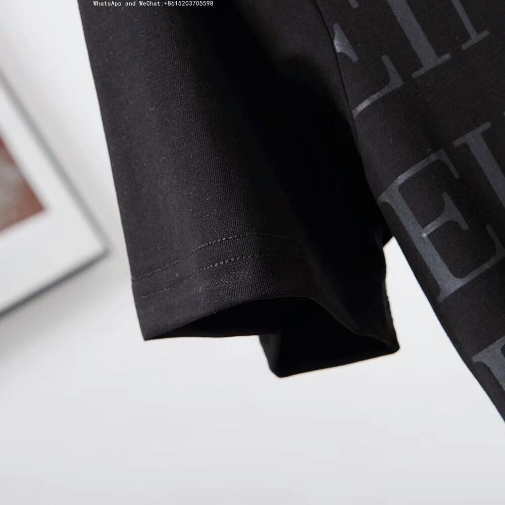 2019 Verão Personalizado Novo Padrão Estilo Masculino de Manga Curta Lazer Tempo T-shirt Dos Homens Wear0305 Maré