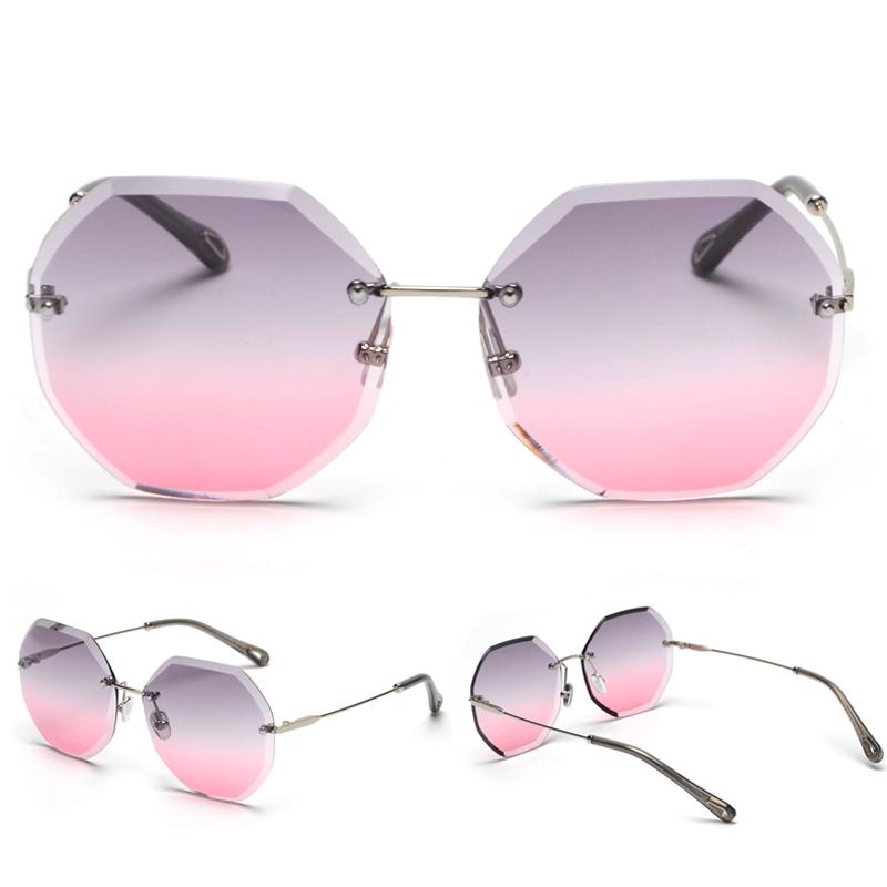 Octagon Sunglasses Women Fashion detaail (6)