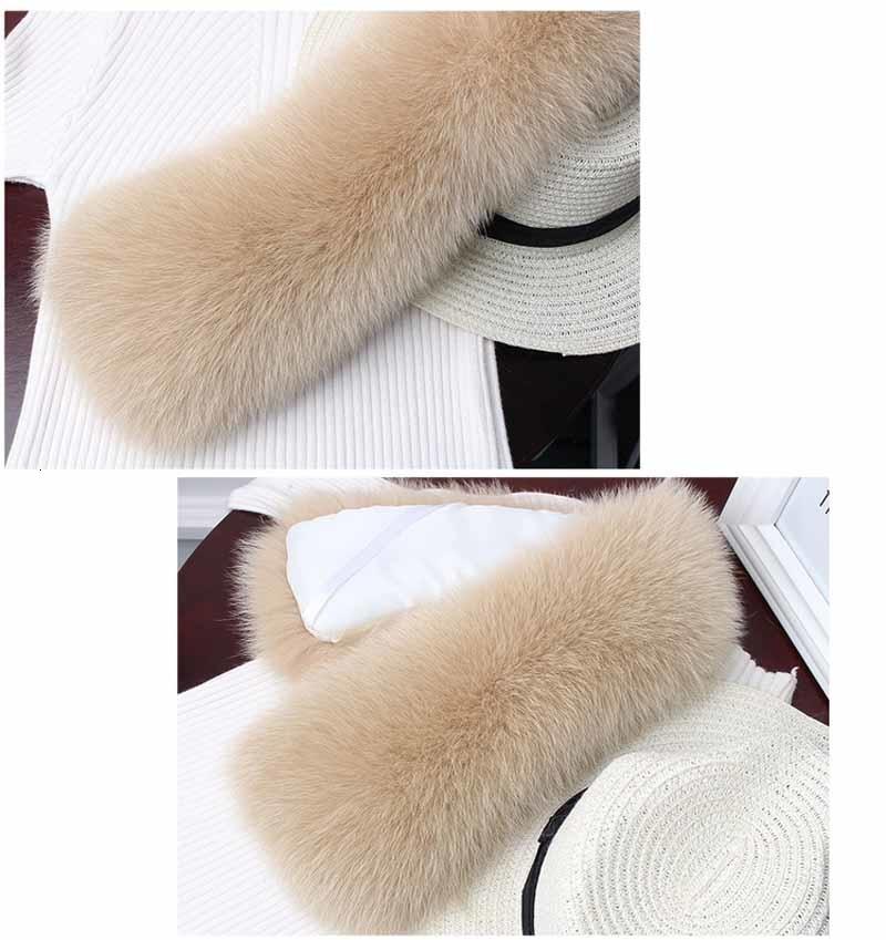 fox fur collar beige 2