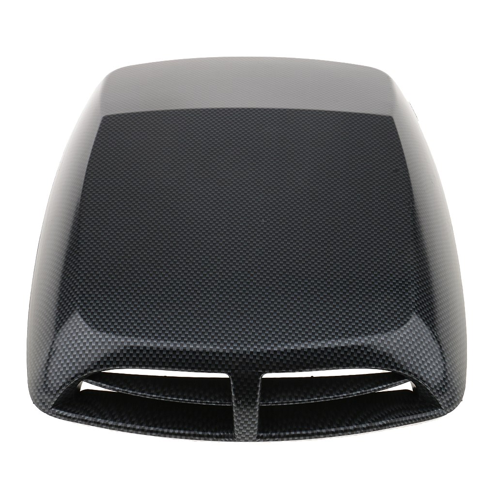 Car Decorative Air Flow Intake Hood Scoop Vent Bonnet Cover Plastic Sticker Universal fit for all cars