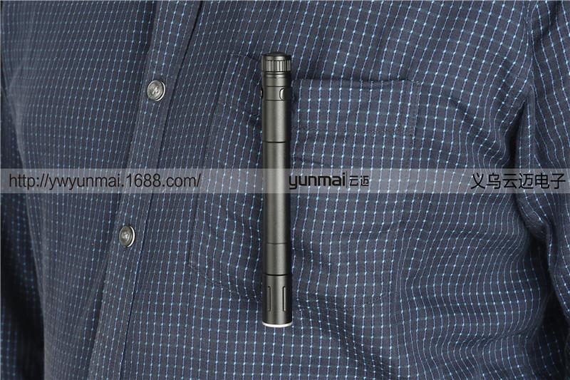 Cross Border New Product Xpe Led Pen Flashlight Led Mini- Zoom Flashlight Medical Mini- Light Pen Q5.